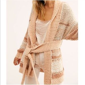 Free People Cozy Cabin Sweater Cardigan